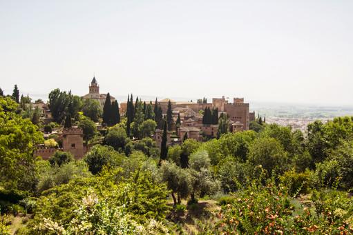 Alcazaba, Granada, Spain