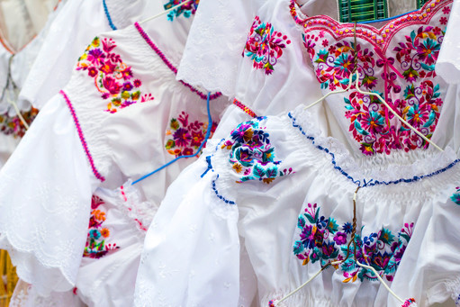 Traditional Ecuadorian Blouses