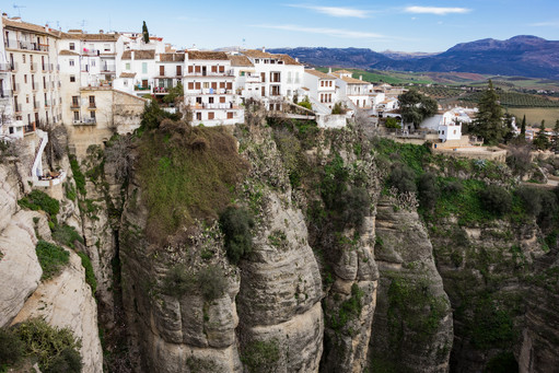 Old Village, Ronda, Andalusia, Spain