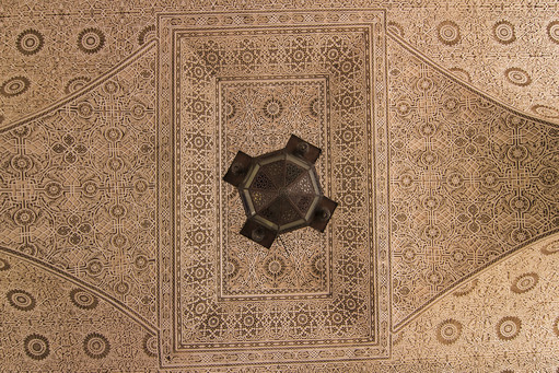 Ceiling in the Arabic Style