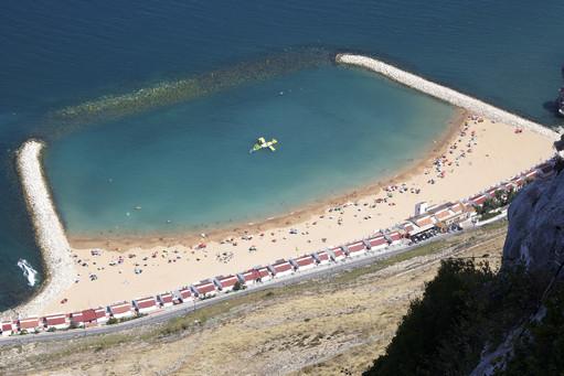 Giblartar's Beach