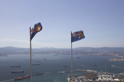 Giblartar's Flags, Bay of Gibraltar