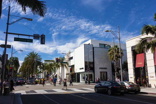 Rodeo Drive Hollywood, California