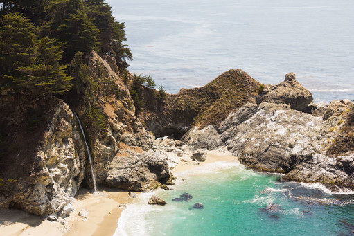 The Bay, Big Sur, California