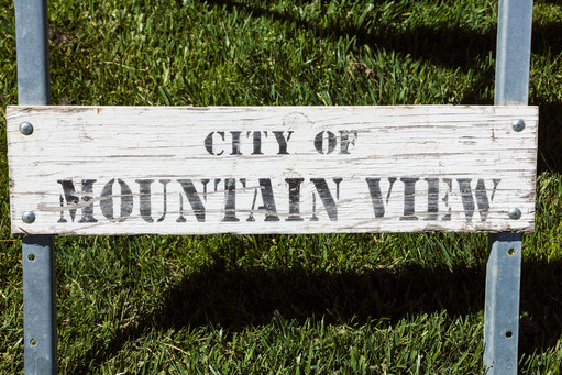 City of Mountain View Sign