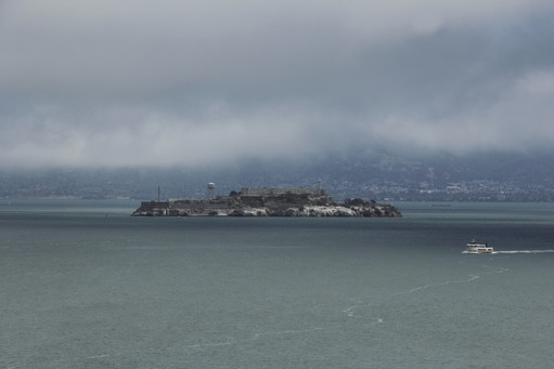 San Francisco, California, US, City Alcatraz Island