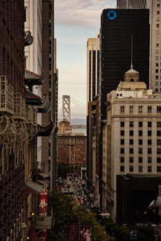 San Francisco, California, US, City Architecture