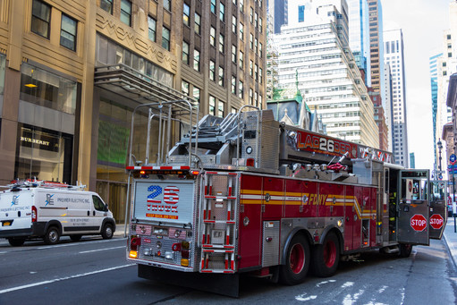 Fire Truck in New York
