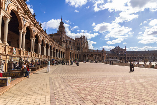 Spanish Square in Seville