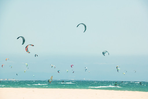 Summer Beach, Kitesurfing