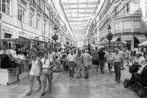 Crowdy spanish city